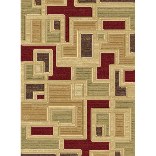 Central Oriental Shadows Jacob Multi Rug