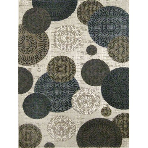 Central Oriental Mystique White Chandler Rug
