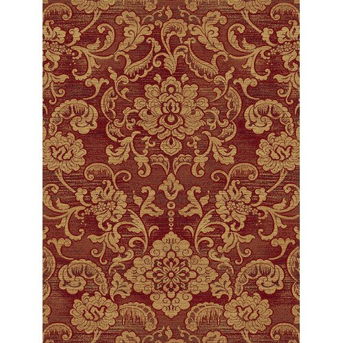 Central Oriental Shadows Londonderry Red Rug