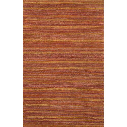 Hula Red/Orange Stripe Rug
