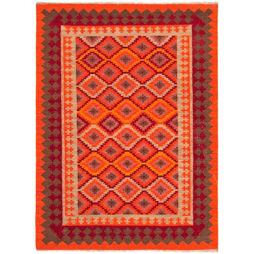 Jaipur Rugs Anatolia Red/Medium Tabasco Tribal Rug