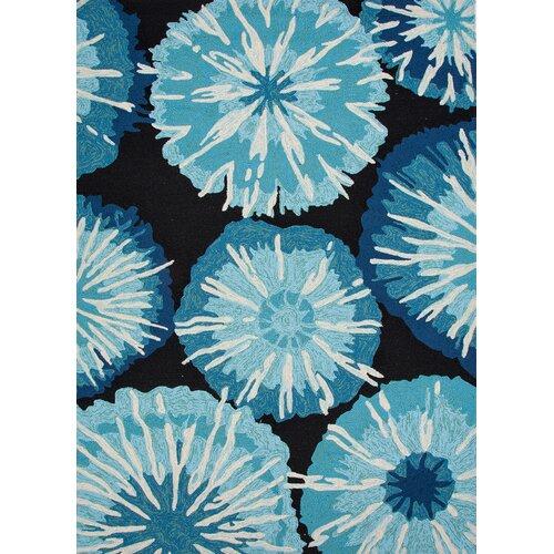 Jaipur Rugs Barcelona Blue Abstract Indoor/Outdoor Rug