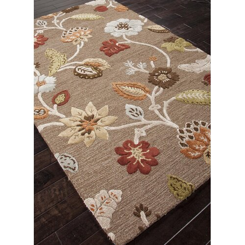 Jaipur Rugs Blue Brown Floral Rug