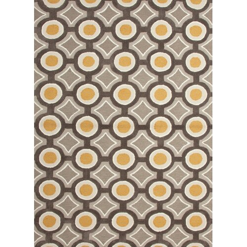 Jaipur Rugs Brio Gold/Charcoal Geometric Rug