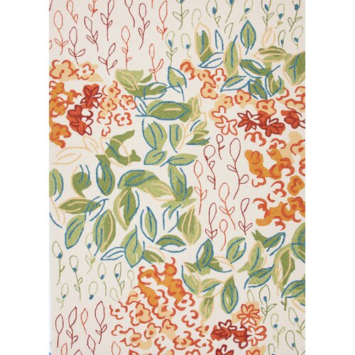 Jaipur Rugs Colours I-O Antique White Floral Indoor/Outdoor Rug