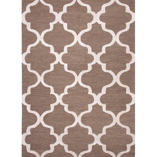 City Brown/Ivory Geometric Rug