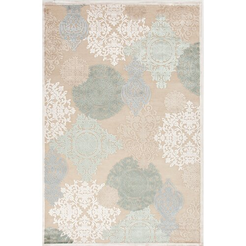 Fables Cream/Blue Floral Rug