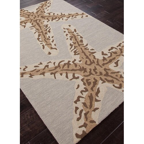 Jaipur Rugs Grant Design I-O Gray/Black Coastal