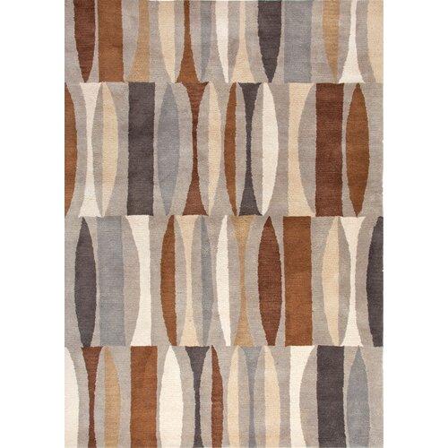 Jaipur Rugs Traverse Beige/Brown Geometric Rug