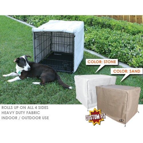 Animated Pet Corner Pin Dog Crate Cover