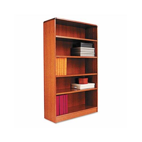 """Alera® Radius Corner 60"""" Bookcase"""