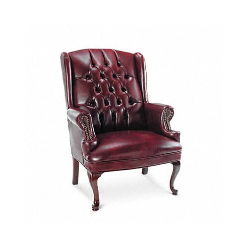 Alera® Century Series Guest Chair with Wing Back