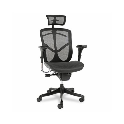 Alera® EQ Series Ergonomic Multifunction High-Back Mesh Office Chair