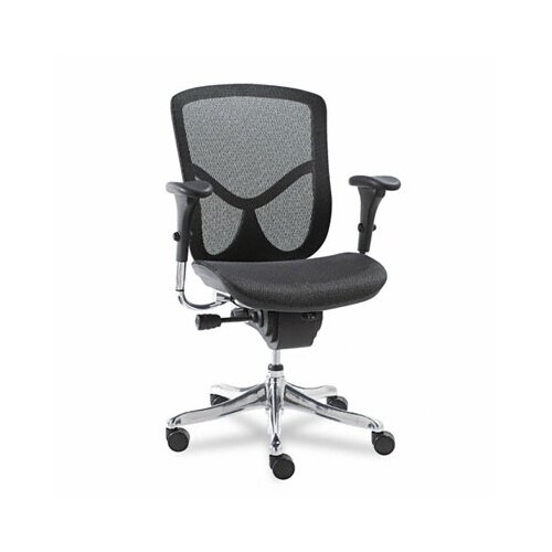 Alera® EQ Series Ergonomic Multifunction Mid-Back Mesh Office Chair