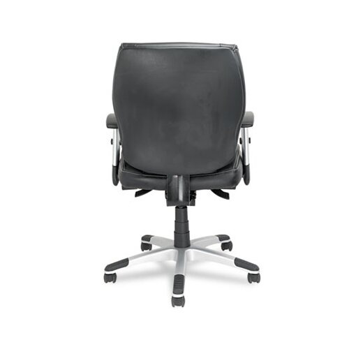 Alera® Napoleon Series Mid-Back Leather Office Chair