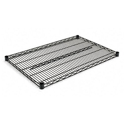 "Alera® Two-Shelve 36"" W x 24"" D Wire Shelving Extra Shelves in Black"
