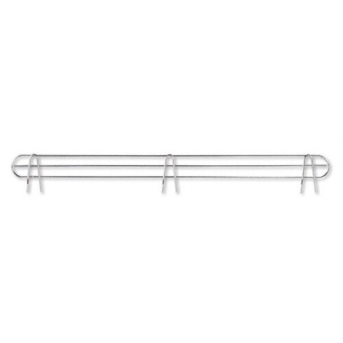 "Alera® 48"" Industrial Wire Shelf Back Support in Silver"