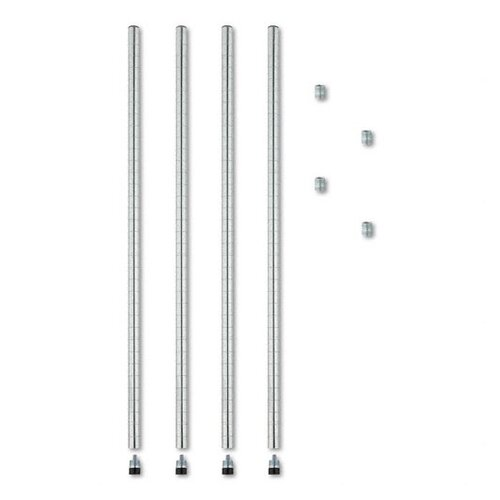 Alera® Stackable Posts for Wire Shelving
