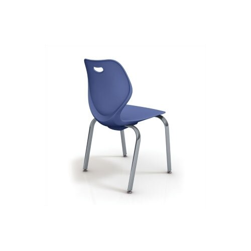"KI Furniture Wave Series 18"" Polypropylene Classroom Four-Leg Chair"