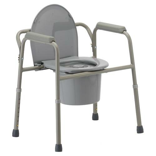 Nova Ortho-Med, Inc. Bathroom 365 3 in 1 Bedside Commode