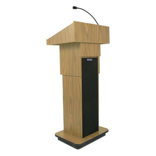 AmpliVox Sound Systems Executive Full Podium