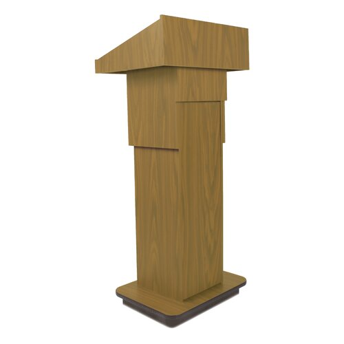 AmpliVox Sound Systems Adjustable Height Column Full Podium