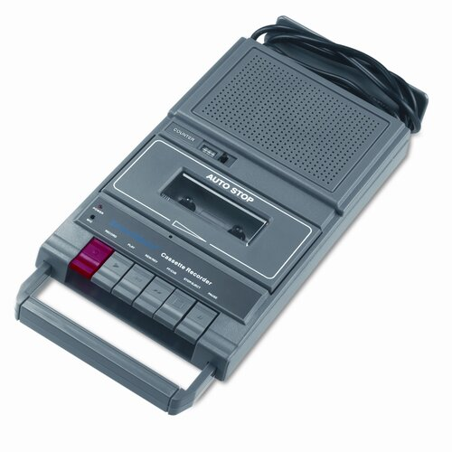 AmpliVox Sound Systems Portable Four-Station Listening Center Audio Cassette Recorder