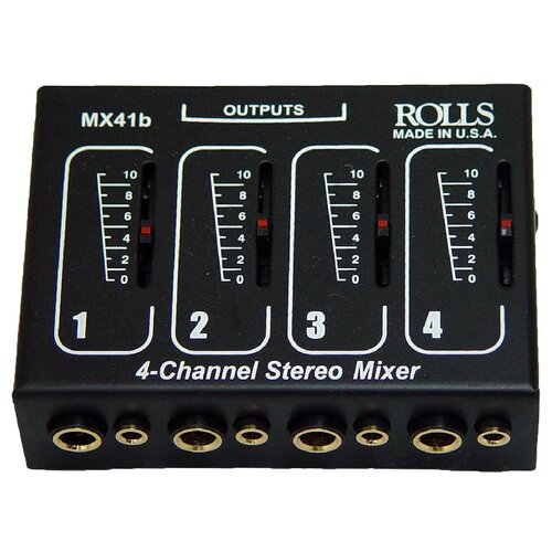 AmpliVox Sound Systems Microphone Mixer