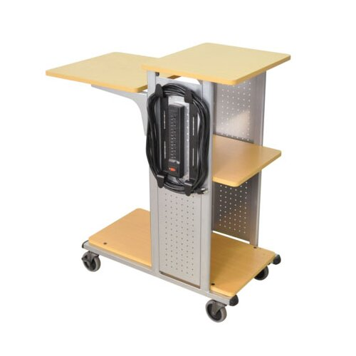 "AmpliVox Sound Systems 41"" Mobile Presentation Station"