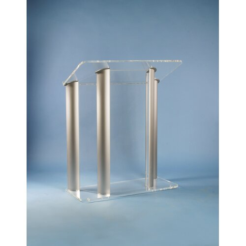 AmpliVox Sound Systems Acrylic and Aluminum Speaker Stand