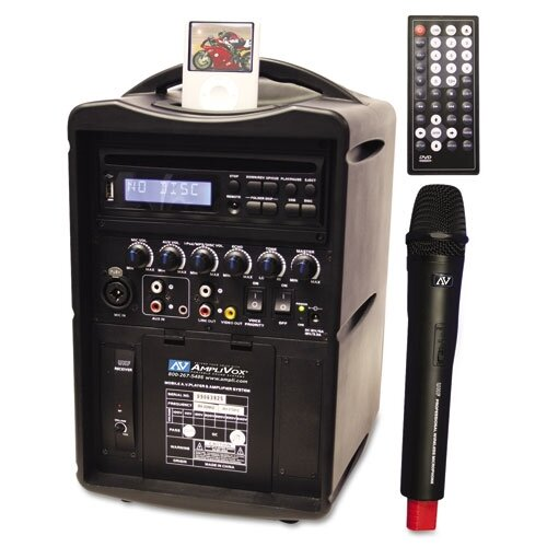 AmpliVox Sound Systems IPod Wireless PA System