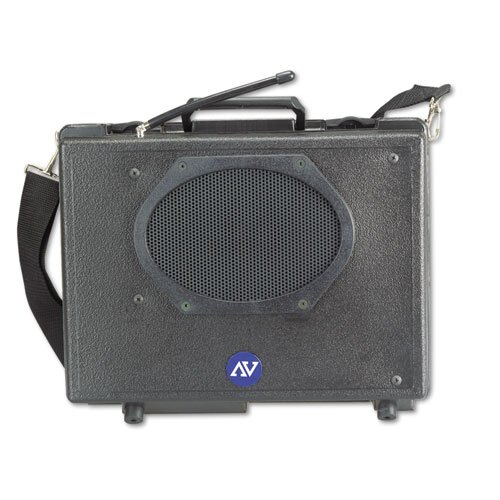 AmpliVox Sound Systems Wireless Audio Portable Buddy Professional Group Broadcast 50 Watt PA System