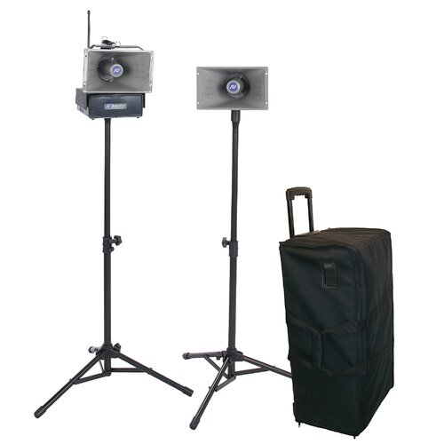 AmpliVox Sound Systems Wireless Hailer