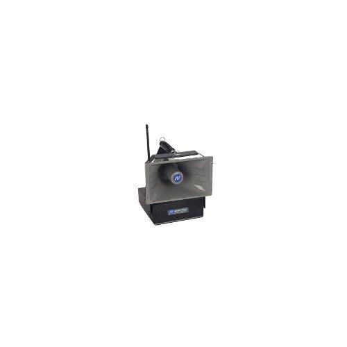 AmpliVox Sound Systems Wireless Powered 50 Watt Hailer with Speaker