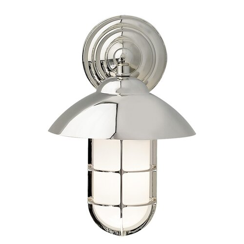 Wilmette Admiral Classic 1 Light Outdoor Wall Lantern