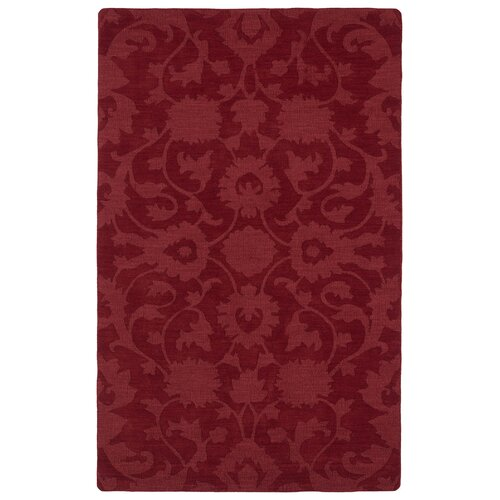Imprints Classic Red Solid Rug