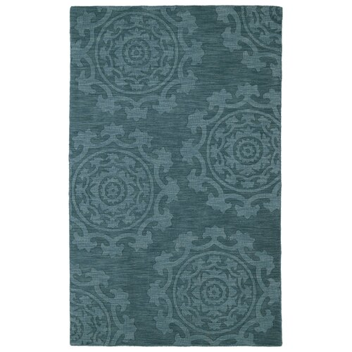 Imprints Classic Turquoise Solid Rug