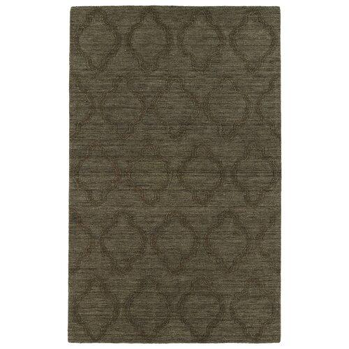 Imprints Modern Chocolate Geometric Rug