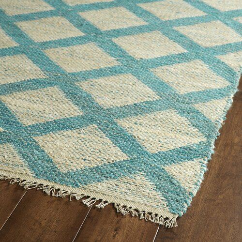 kenwood reversible beige teal area rug wayfair