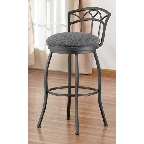 "Tempo Frolic 26"" Swivel Bar Stool with Cushion"