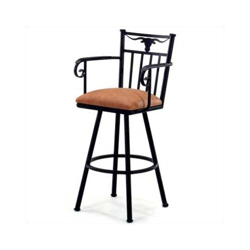 "Tempo Longhorn 30"" Bar Stool with Cushion"