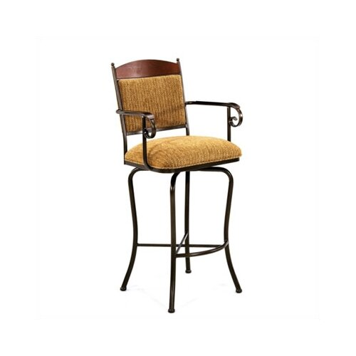 "Tempo Madera 34"" Bar Stool with Cushion"