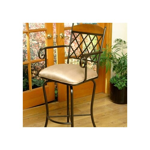 "Tempo Madrid 30"" Bar Stool with Cushion"