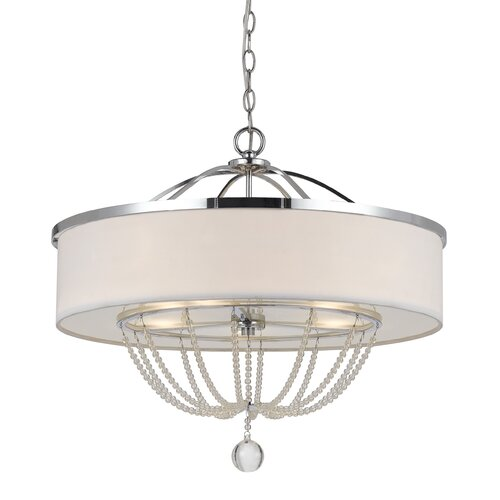 Emilia 5 Light Drum Chandelier