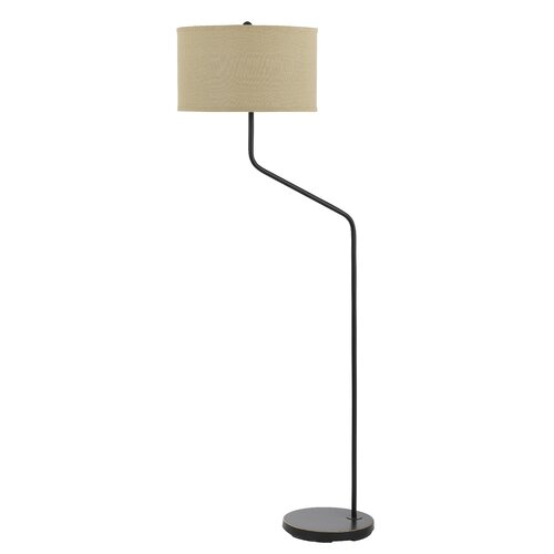 Cal Lighting Henerdson 3 Way Metal Floor Lamp
