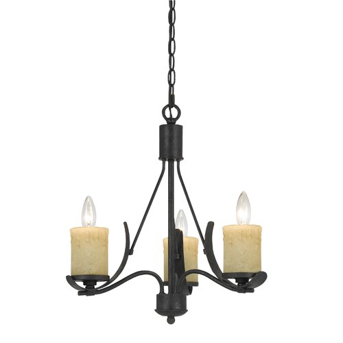 Morelis 3 Light Candle Chandelier