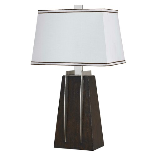 "Cal Lighting 28"" H Modern Table Lamp"