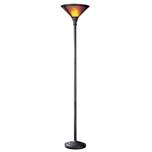 Cal Lighting Torchiere Floor Lamp with Mica