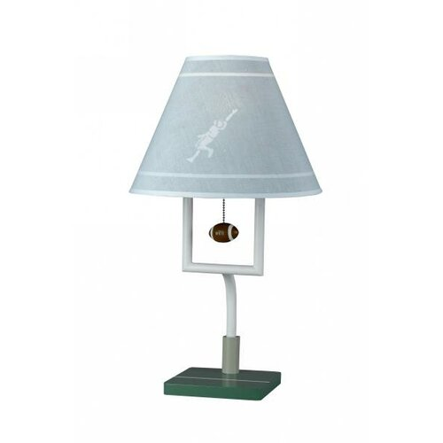 Cal Lighting Football Table Lamp with Shade