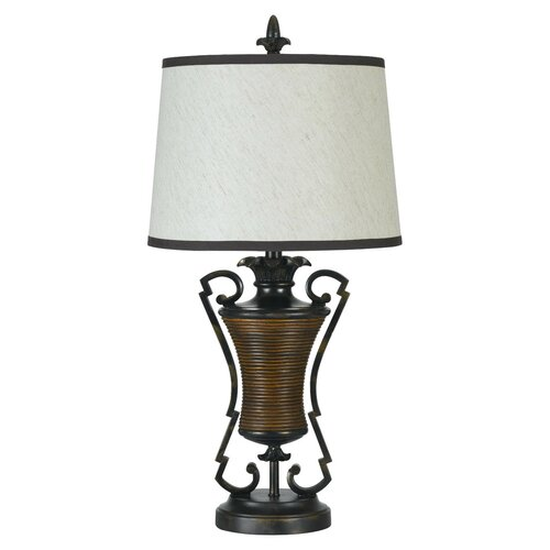 "Cal Lighting Pahokee 31"" H Table Lamp with Empire Shade"